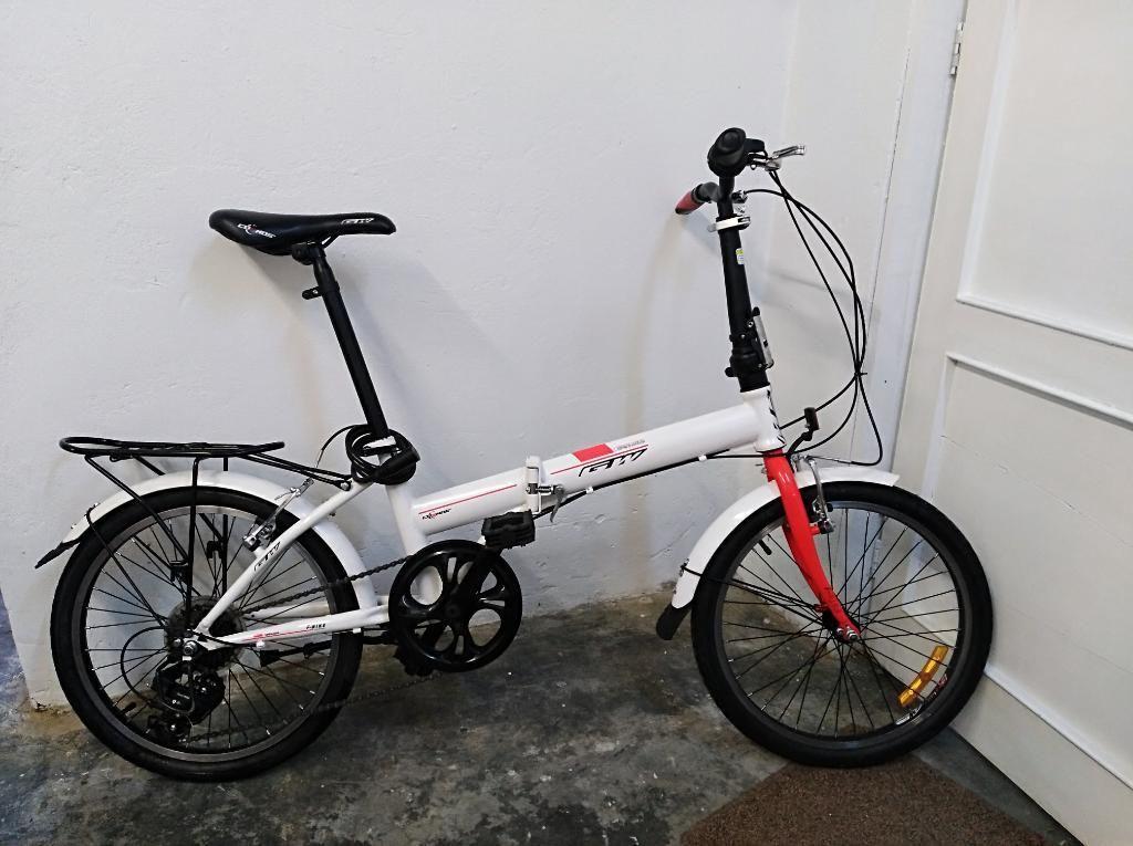 URGENTE MOTIVO VIAJE Bicicleta Plegable Gw Acero 20p