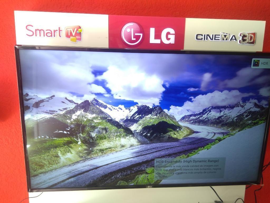 Vendo Tv Lg 55 Pulgadas Smart Tv 4k