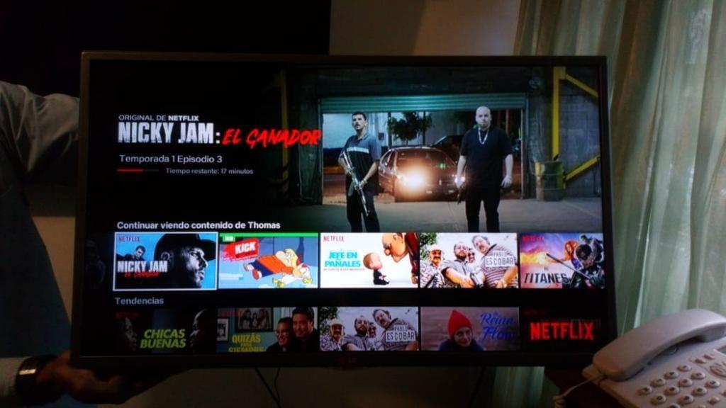 Vendo Tv Lg de 32 P en Buen Estado