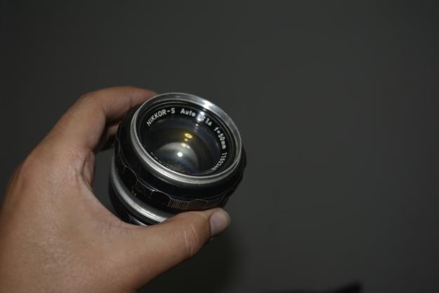 lente Nikon 50mm 1,4 para repuesto