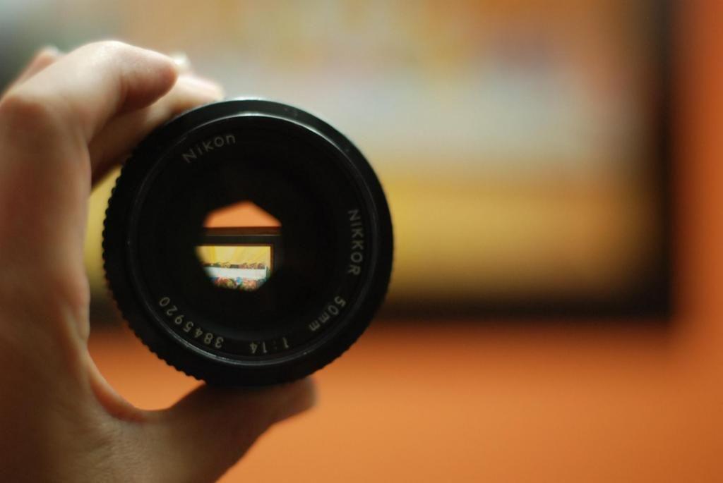 lente Nikon luminoso