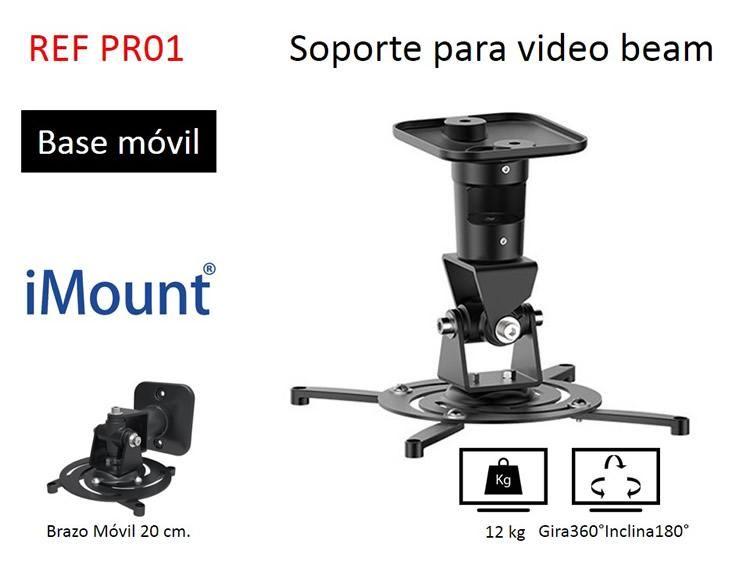 soporte para video beam universal importado