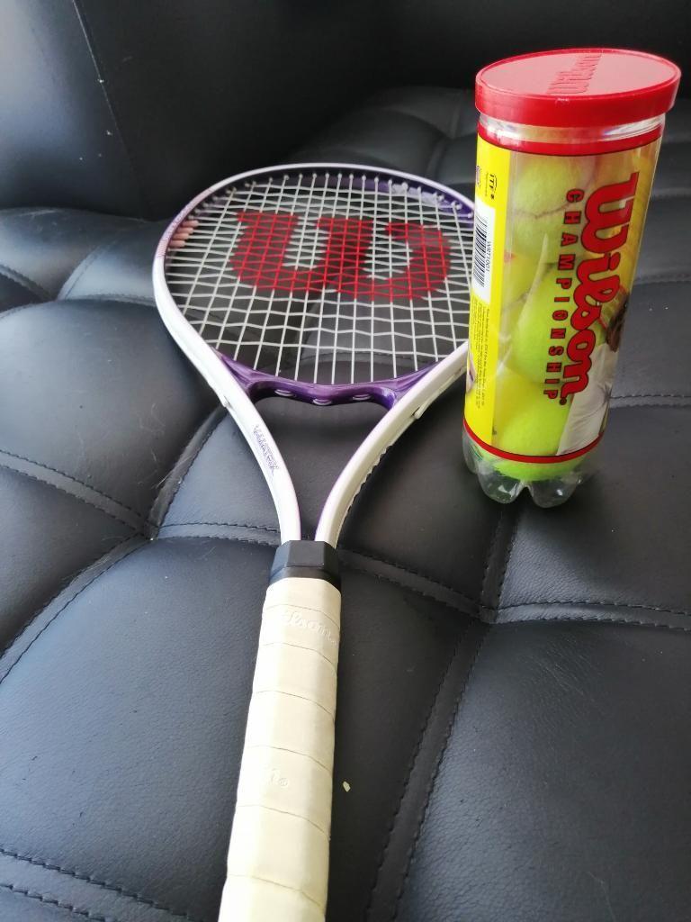 Raqueta de Tenis Wilson 3 Pelotas