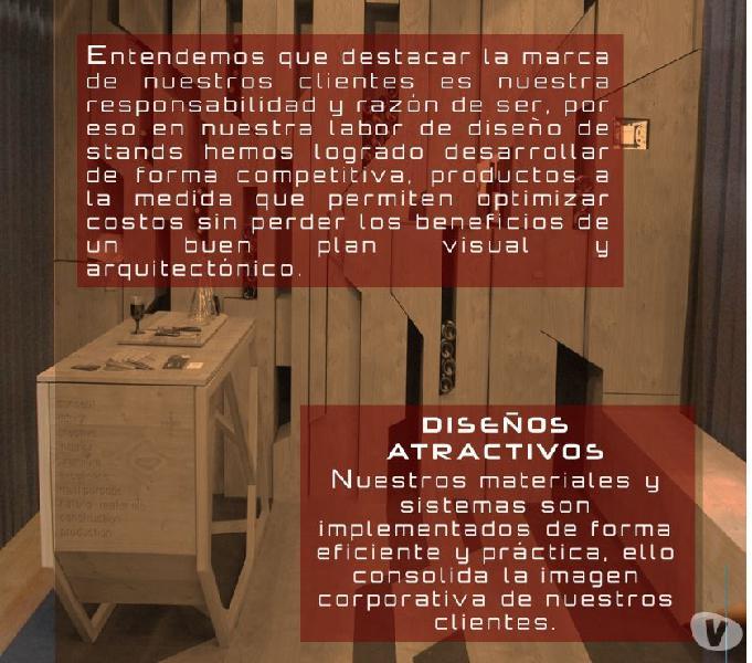 ALQUILER DE STANDS EN BOGOTÁ