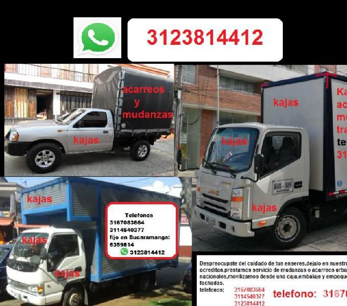 Acarreos y Mudanzas Kajas 3123814412