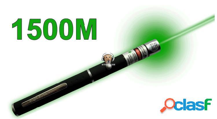 Apuntador Laser Verde 1500m de Alcance