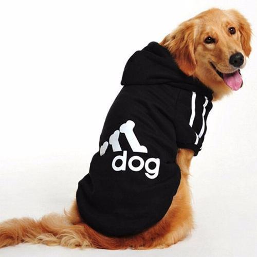 Buso Saco Mascota Adidog Razas Grandes 2xl - Color Negro