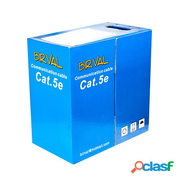 Cable UTP cat.5e birval, caja 305m