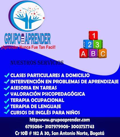 Clases DE Ingles a Domicilio - Grupo Aprender