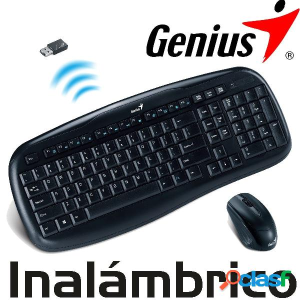 Combo inalámbrico, teclado y mouse KB-8000