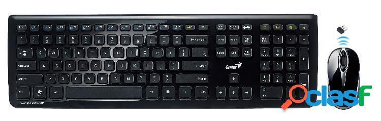 Combo inalámbrico, teclado y mouse SlimStar i820