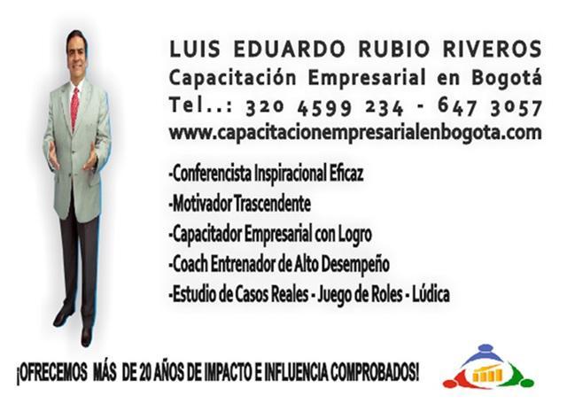 Conferencista Empresarial En Bogotá