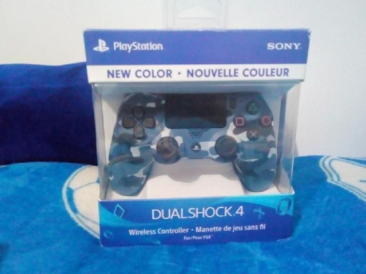 Control Dualshock 4 Camuflado Azul