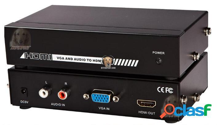 Convertidor de VGA a HDMI Analogo a Digital