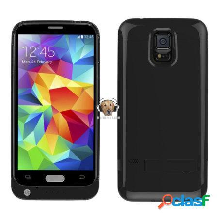 Estuche con Bateria Recargable para Samsung Galaxy S5