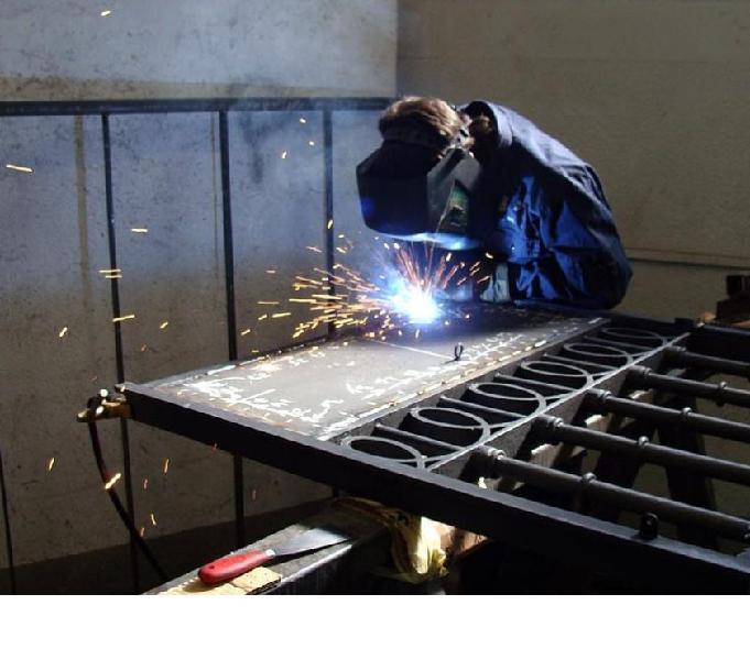 Fabricación rejas metalicas de seguridad y estructuras