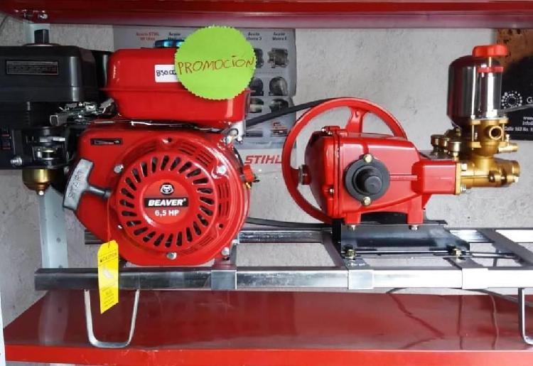 Fumigadora estacionaria con motor 6.5 hp