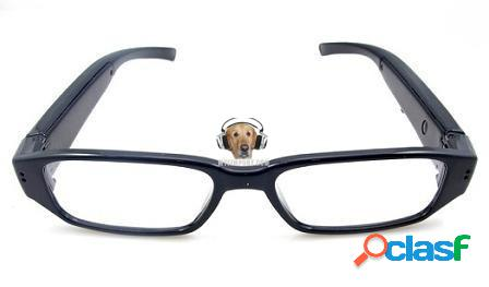 Gafas Lente Transparente Con Cámara HD
