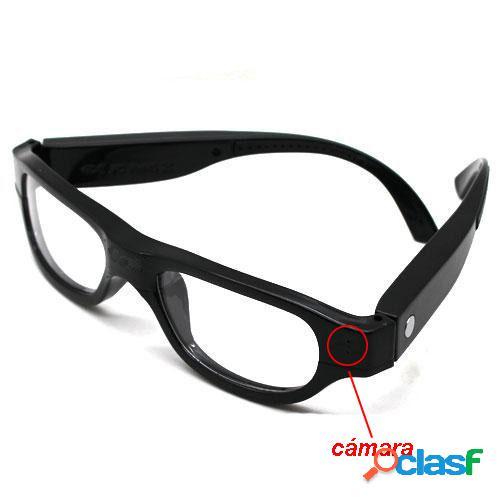 Gafas Transparentes con Camara Oculta 720p