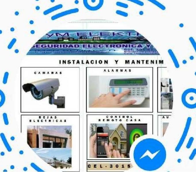 Instalación y Mantenimiento de seguridad electronica