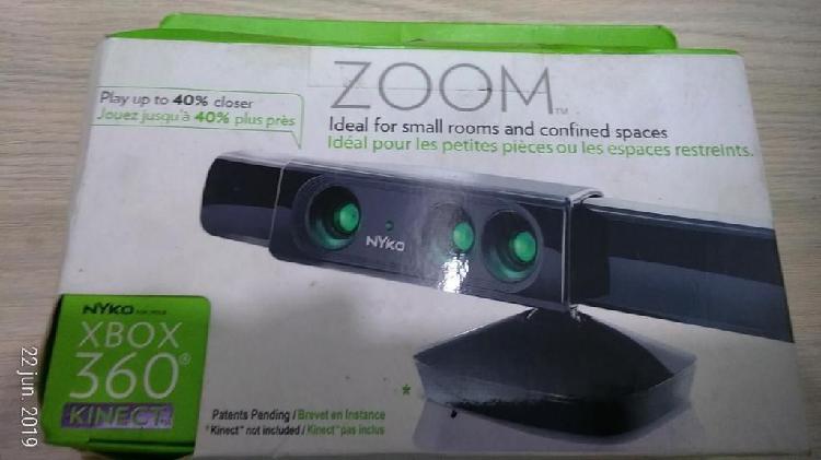 Kinect zoom xbox 360 reduce el espacio en un 40% nuevo