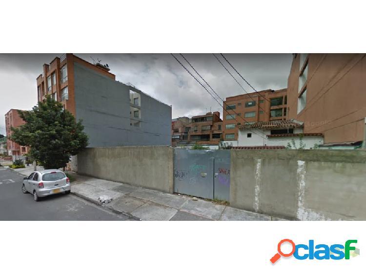 Lote en Venta Santa Barbara Central Bogota