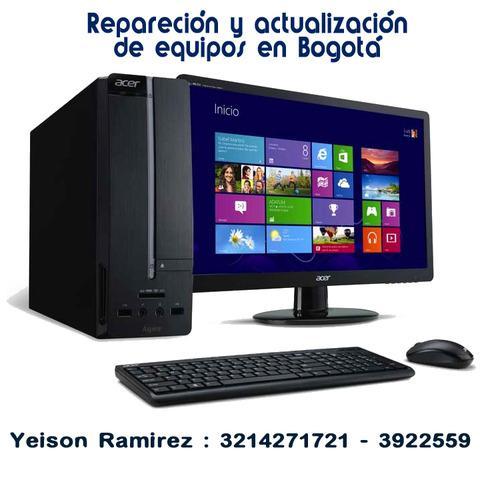 Mantenimiento Y Servicio Tecnico De Computadores En Bogotá