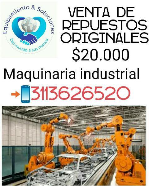 Maquinaria Industrial, Servicio Tecnico