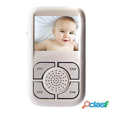 Monitor inalambrico para bebe con camara infraroja