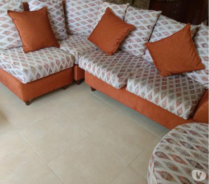 Mueble en L para sala
