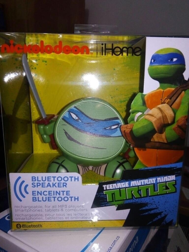 Parlante Turtles Bluetooth