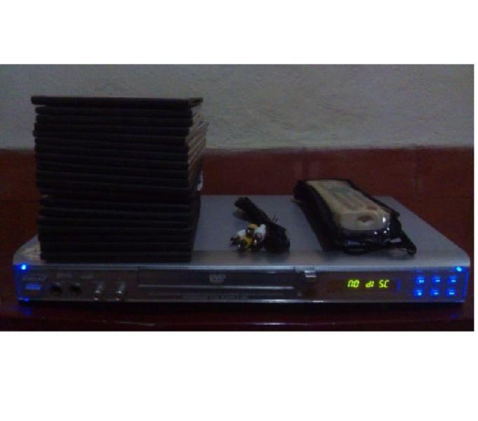 Reproductor de video kalley k 1200 más 40 películas.
