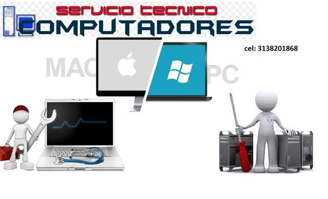Servicio Técnico de Computadoras Portátiles y de Mesa,