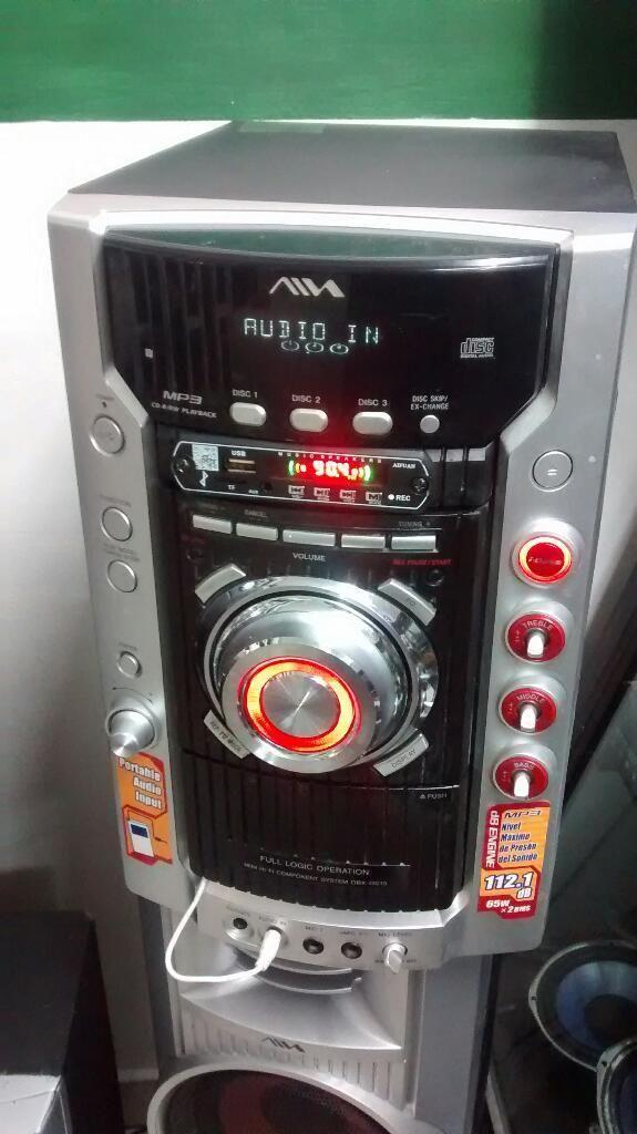 Sony Aiwa con Bluetooth Y Usb