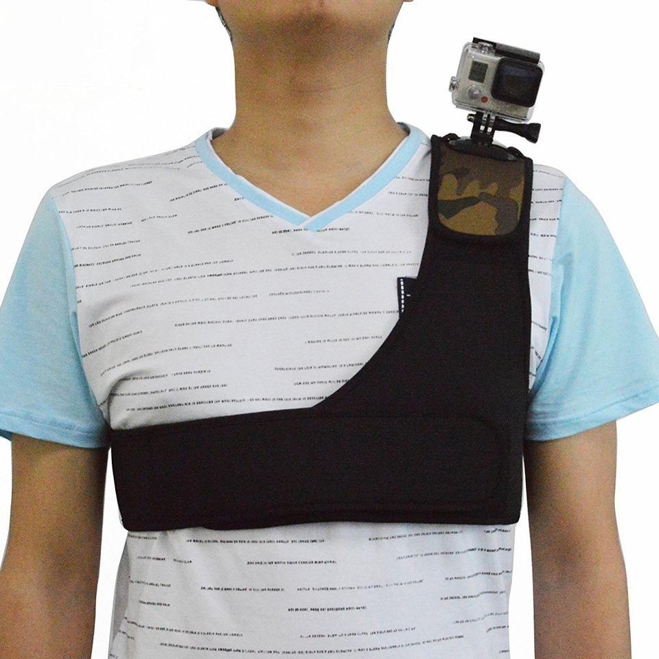 Soporte de hombro para cámara go pro