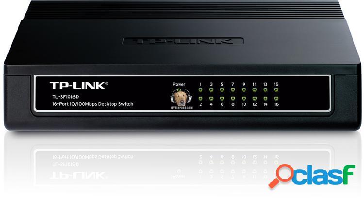 Switch 16 Puertos 10/100 Tp-Link Tl-SF1016D