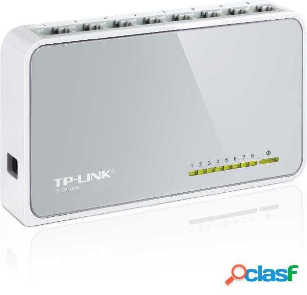 Switch de 8 puertos 10/100 TP-link SF1008D