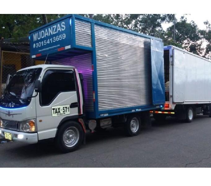 TRANSPORTE DE MUDANZAS BARRANQUILLA TE COTIZAMOS 3015413659