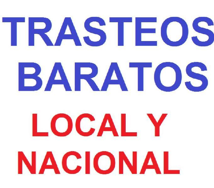 TRASTEOS Y ACARREOS BUEN PRECIO 3107614238