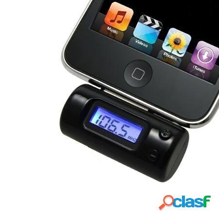 Transmisor FM, control remoto Iphone y Ipad