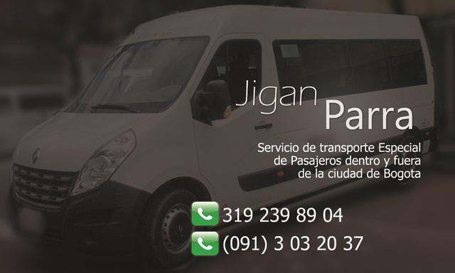 Transporte Terrestre de Pasajeros - Servicio especial en