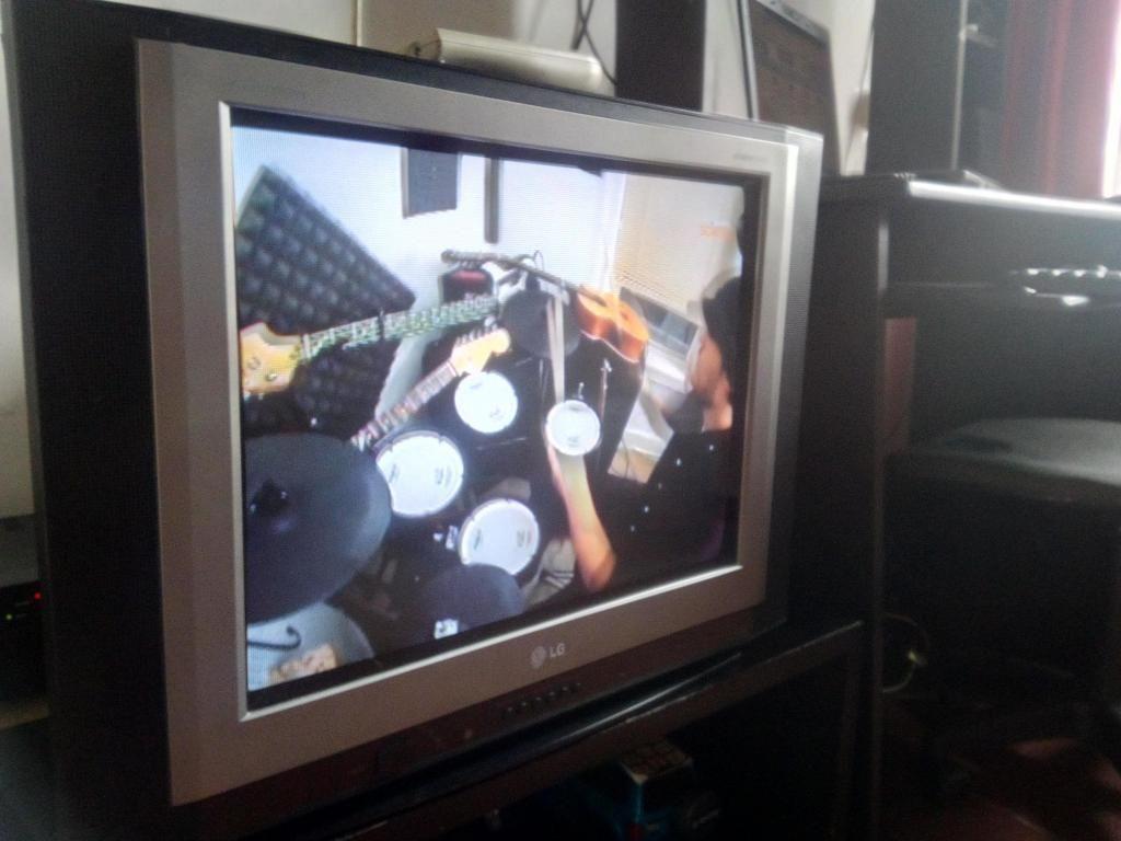 Tv Lg Flatron 21 Con control Original