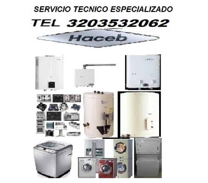 VENTA Y SERVICIO DE CALENTADORES HACEB TEL 3203532062