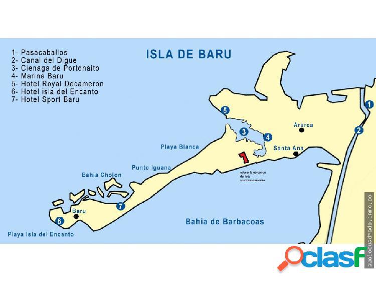 Vendo Lote Isla de Baru, Cartagena / Bolívar