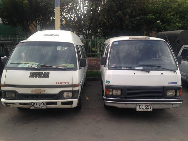 Vendo Negocio de transporte escolar en Bogotá-