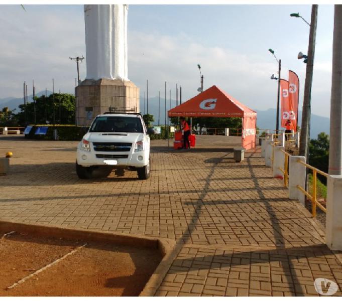 vendo camioneta chevrolet dmax 4x4 doble cabina publica