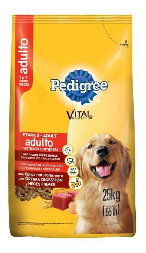 Alimento Para Perro Pedigree Adulto X 25kg