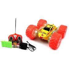 Carro A Control Remoto Doble Stunt Max Tr Electric Rc