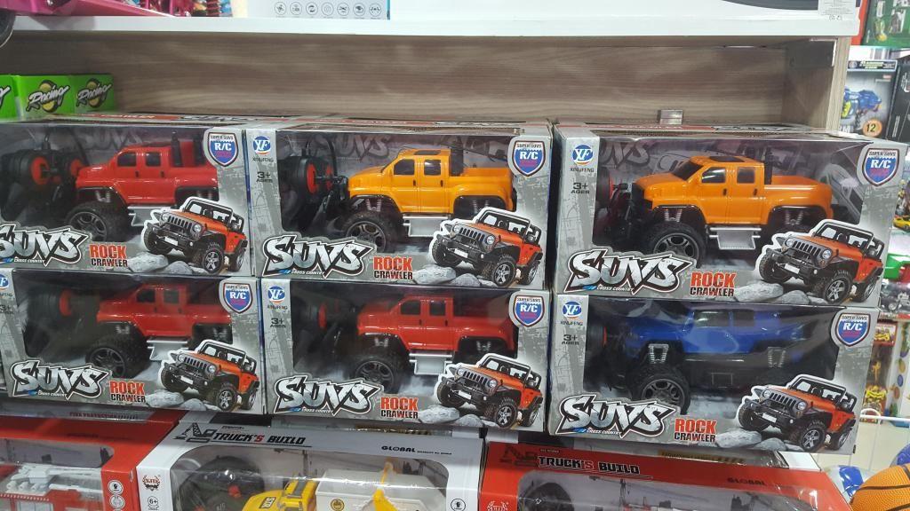 Carro A Control Remoto Trucks Y Suvs Envio Gratis