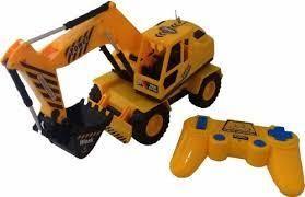 Carro Constructor Excavadora Control Remoto Recargable